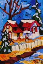 Winter Sky (MCB) by Ms Marie-Claude Boucher - Masterpiece Online