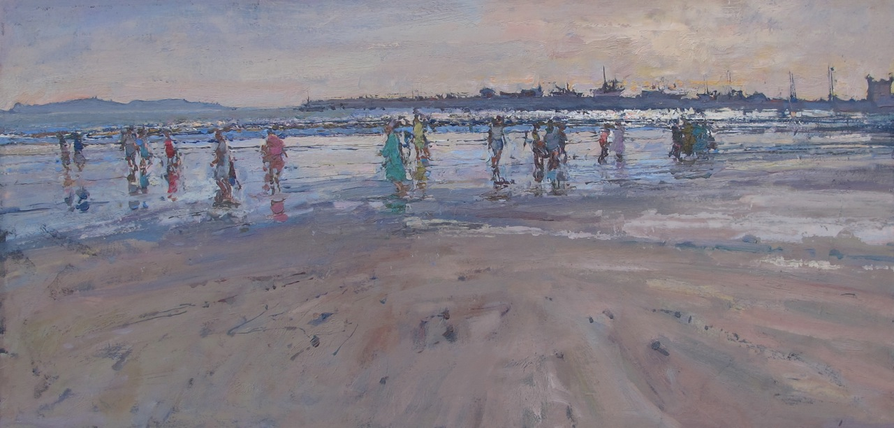 In the Shallow Surf by  Daud Akhriev - Masterpiece Online