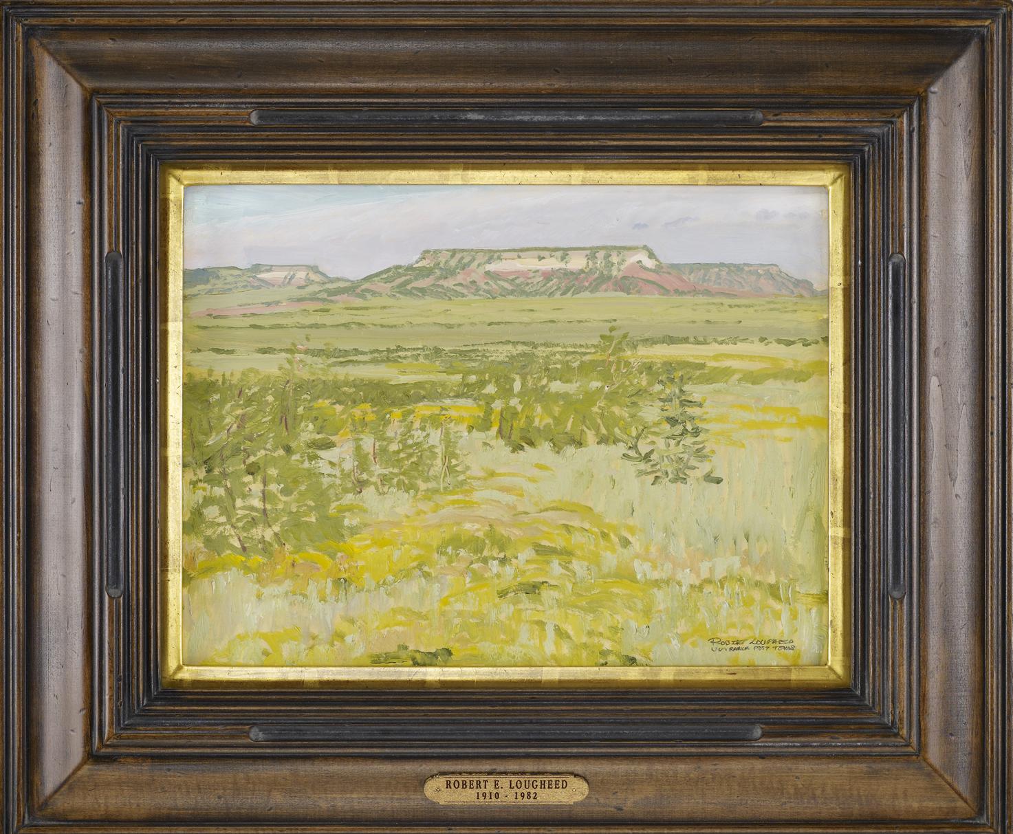 Green Grass, U Lazy S... by  Robert Lougheed - Masterpiece Online