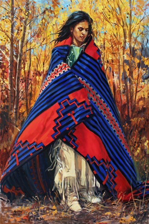 SOLD- Autumn Winds by  Barbara Summers Edwards - Masterpiece Online