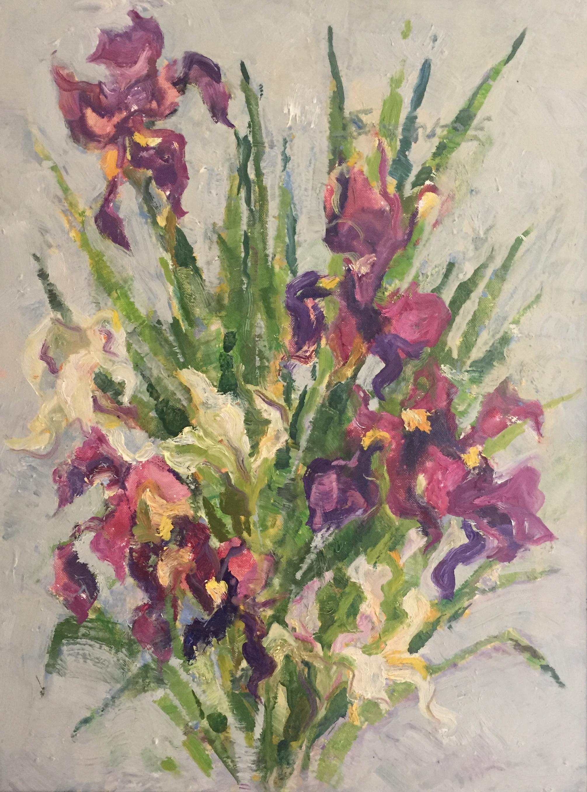 Bouquet #2 by  Adele Seronde - Masterpiece Online