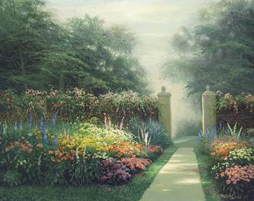 Garden Blooms by  Egidio Antonaccio  - Masterpiece Online