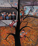 DP-MUSIC AT THE MURAL by  P. Buckley Moss  - Masterpiece Online