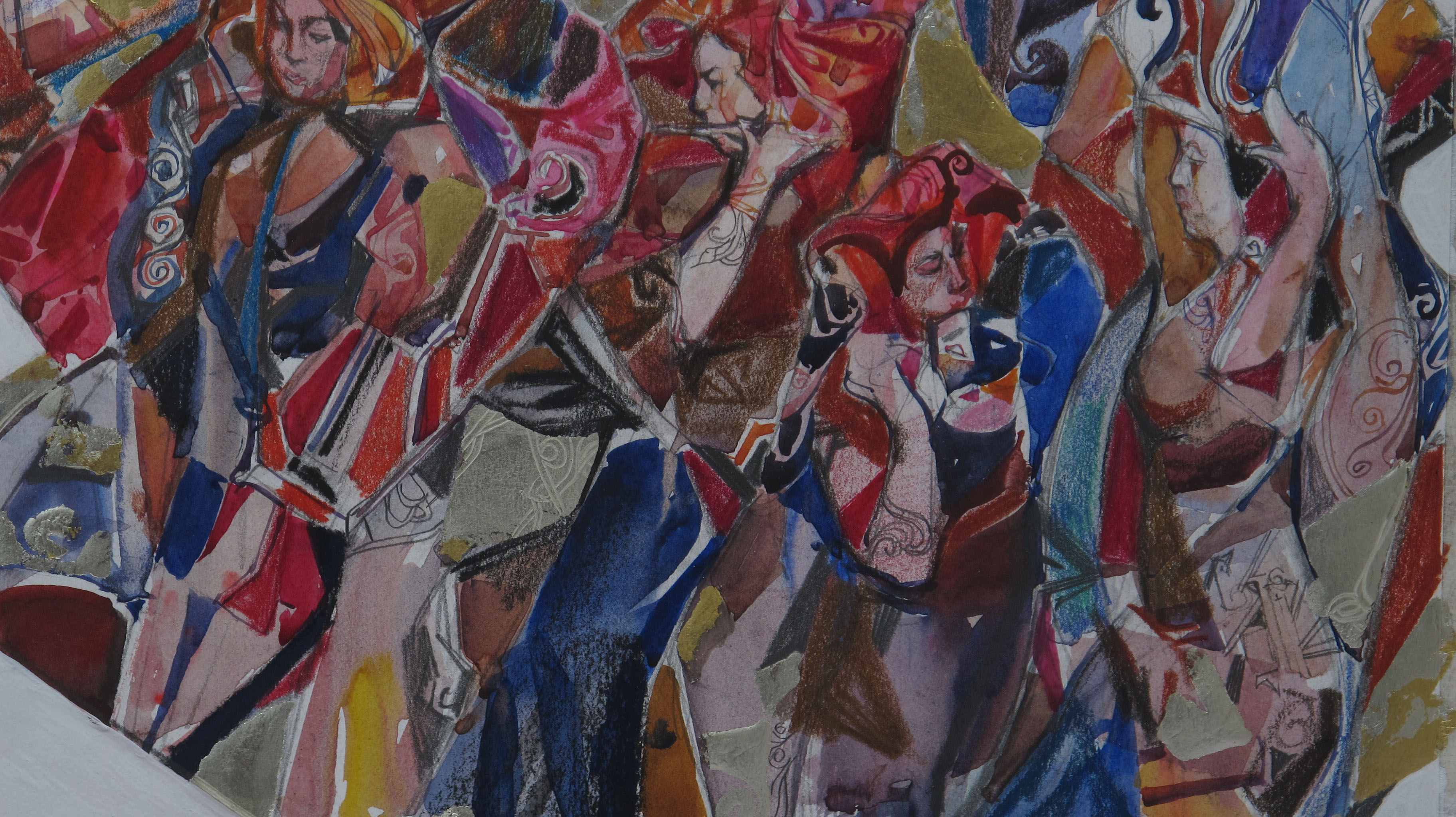 Muses Mosaic: Study II by  Daud Akhriev - Masterpiece Online