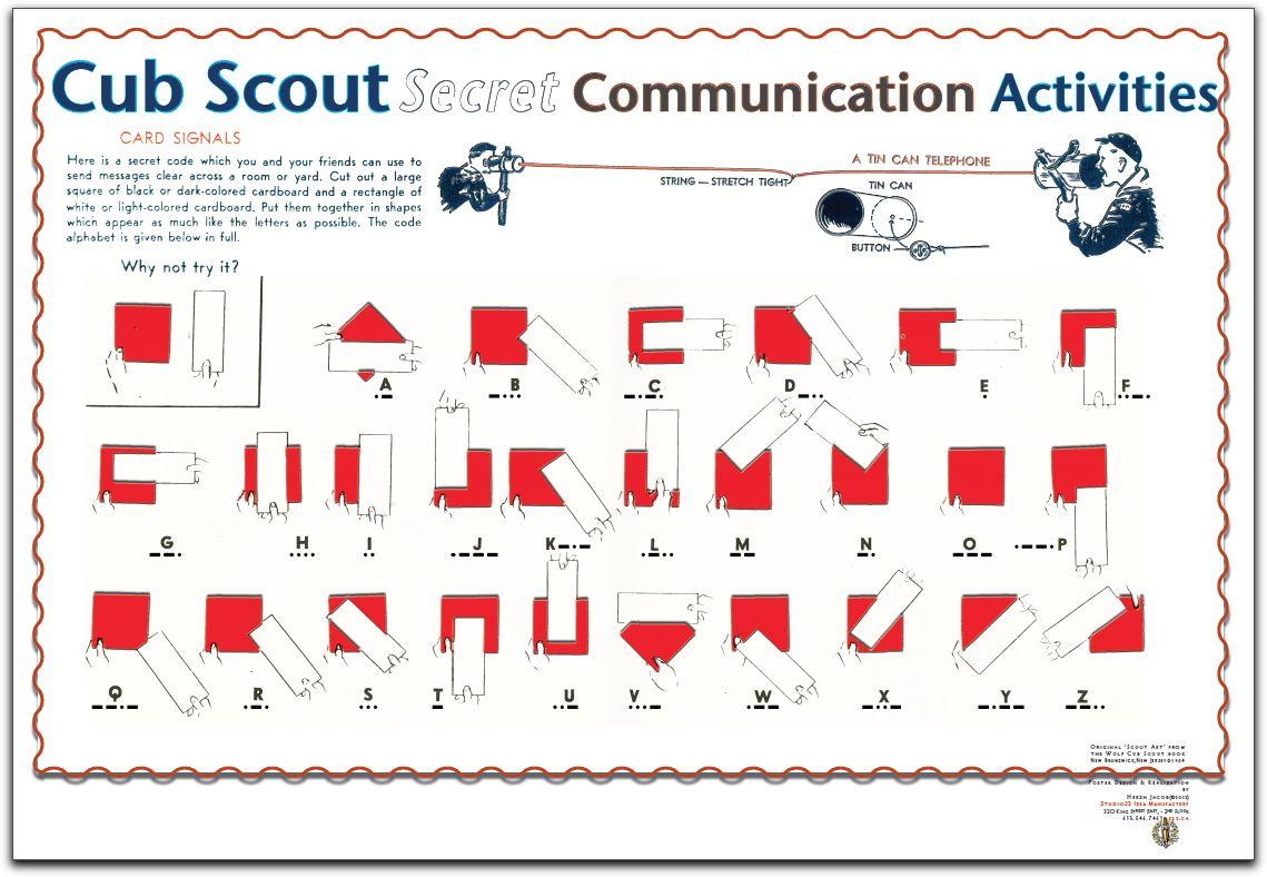 Cub Scout Communicati...