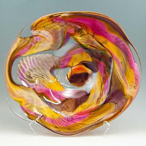 Spiderweb Platter by  Matthew Paskiet - Masterpiece Online