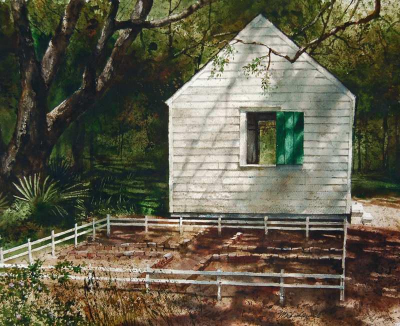 Garden Shadows by Mr Mark Stewart - Masterpiece Online