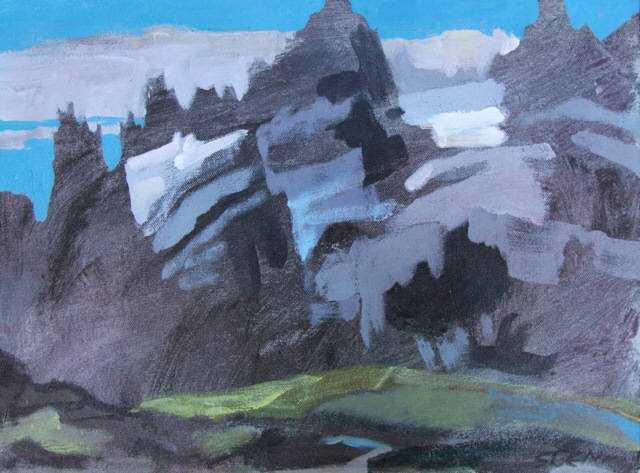 Solemate, Bugaboos by  Sara Genn - Masterpiece Online