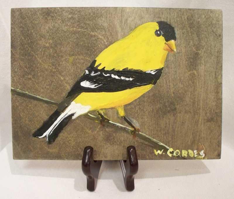 WC388 - Goldfinch by  William Cordes - Masterpiece Online