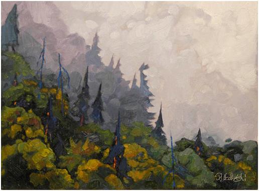 Autumn Morning 46928 by  Dominik Modlinski - Masterpiece Online