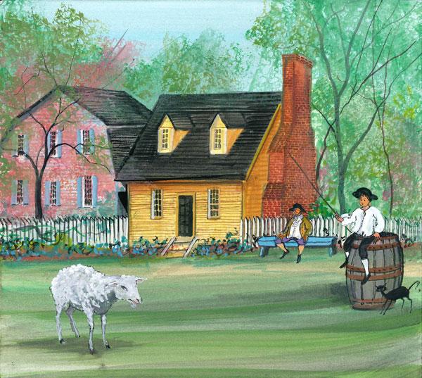 DP-The Village, Willi... by  P. Buckley Moss  - Masterpiece Online