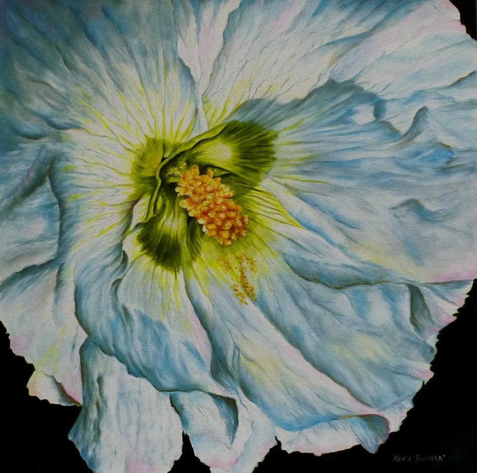 Ruffles in Blue by  Rena Bierman - Masterpiece Online