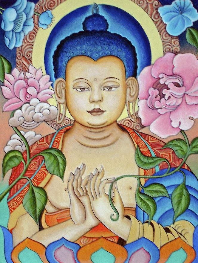 Blue Dream Buddha by  Matthew Smith - Masterpiece Online