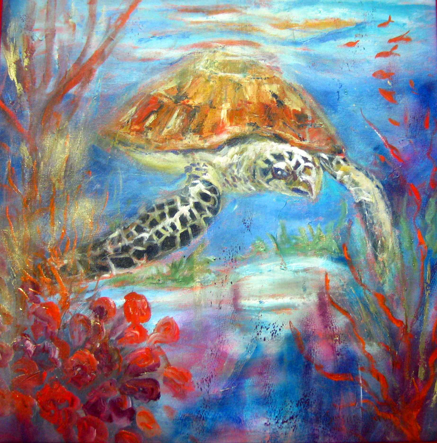 Treasured Hawksbill by Mrs. Susan Mains - Masterpiece Online
