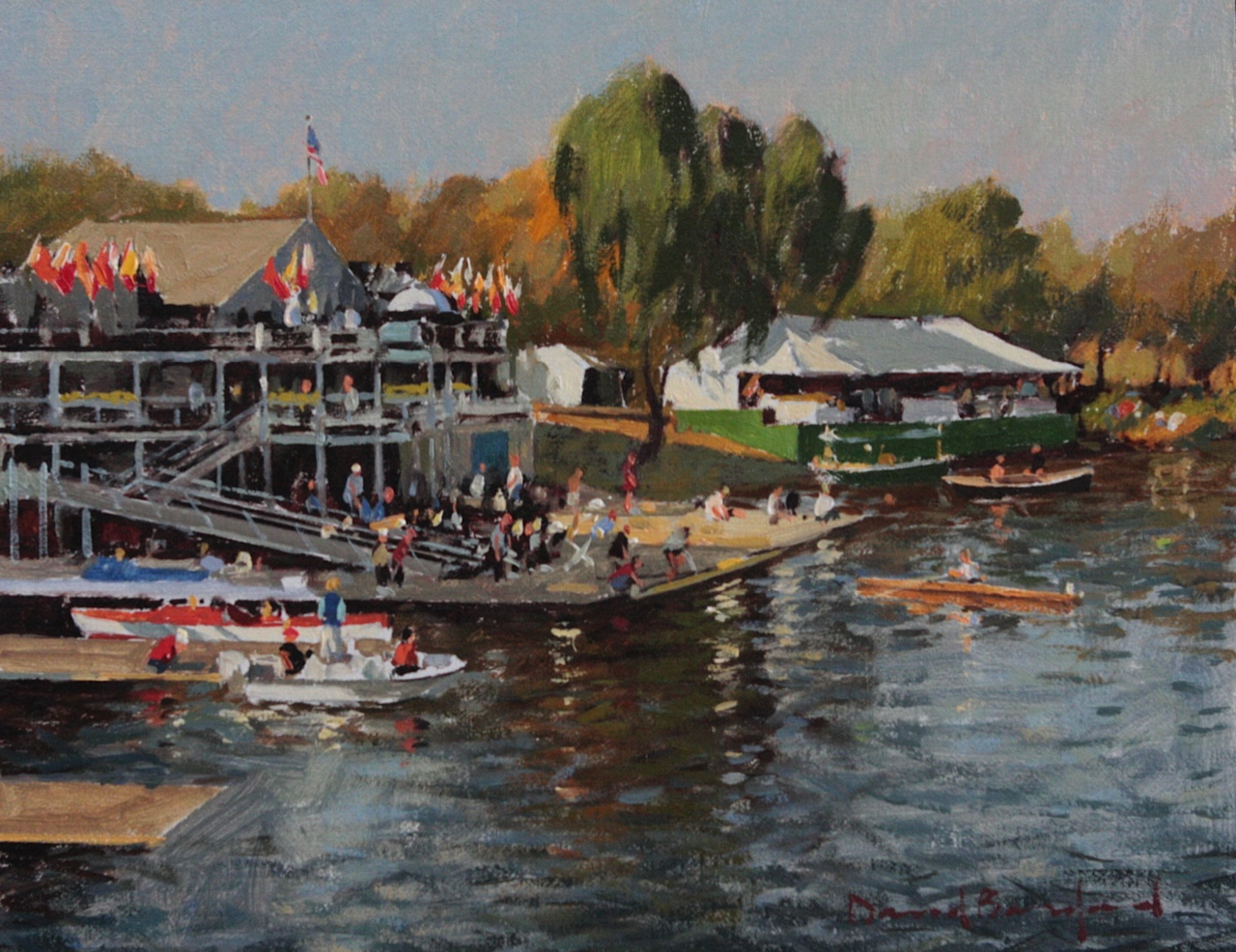 Race Day, Cambridge B... by  David Bareford - Masterpiece Online