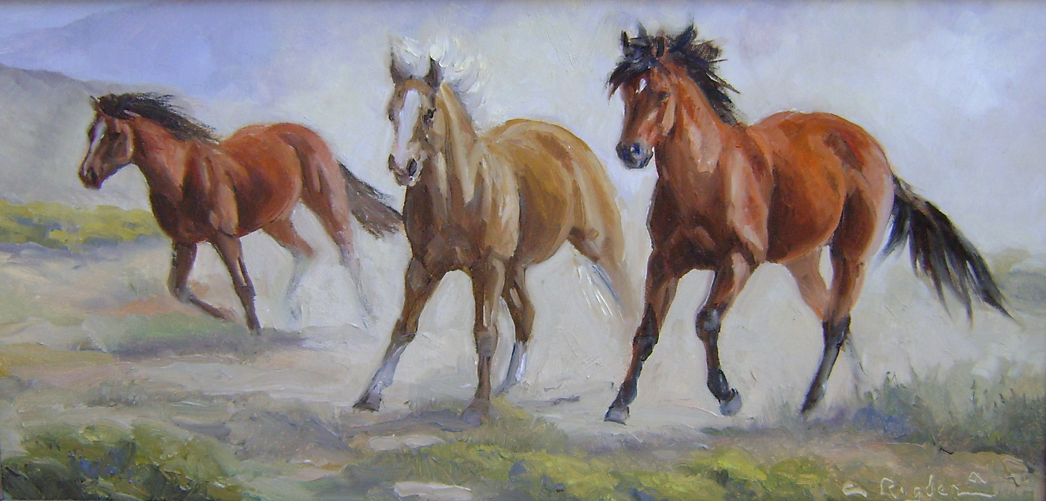 On A Lope by Ms. Cynthia Rigden - Masterpiece Online