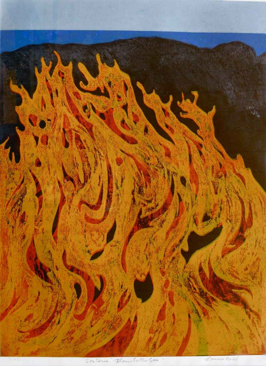 Volcano Series Flow ... by  Louis Pohl (1915-1999) - Masterpiece Online