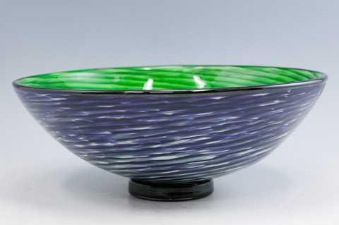 Half Circle Bowl/Purp... by  Cliff Goodman - Masterpiece Online