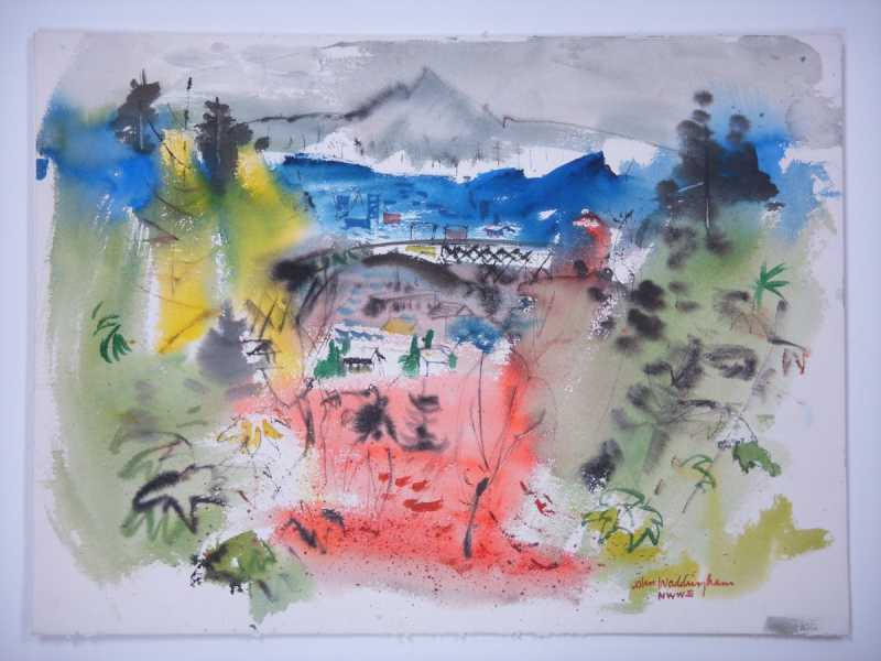 Untitled (City Abstra... by  John Waddingham - Masterpiece Online