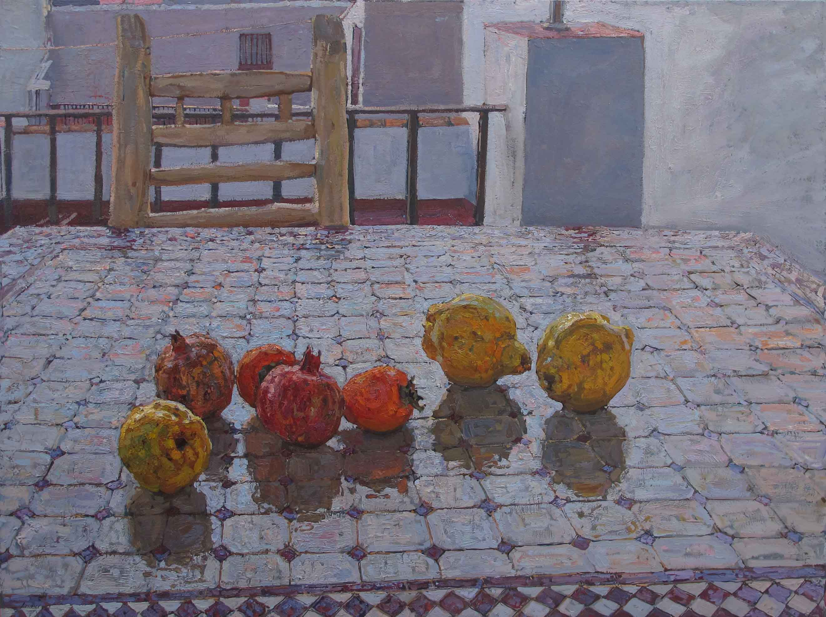 Still Life on a Moroc... by  Daud Akhriev - Masterpiece Online