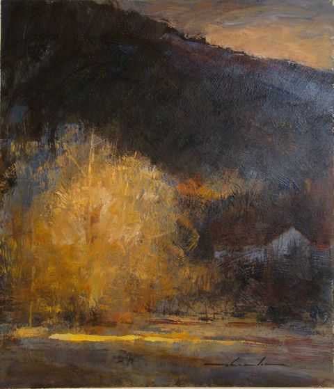 October Night by  William Thomson - Masterpiece Online