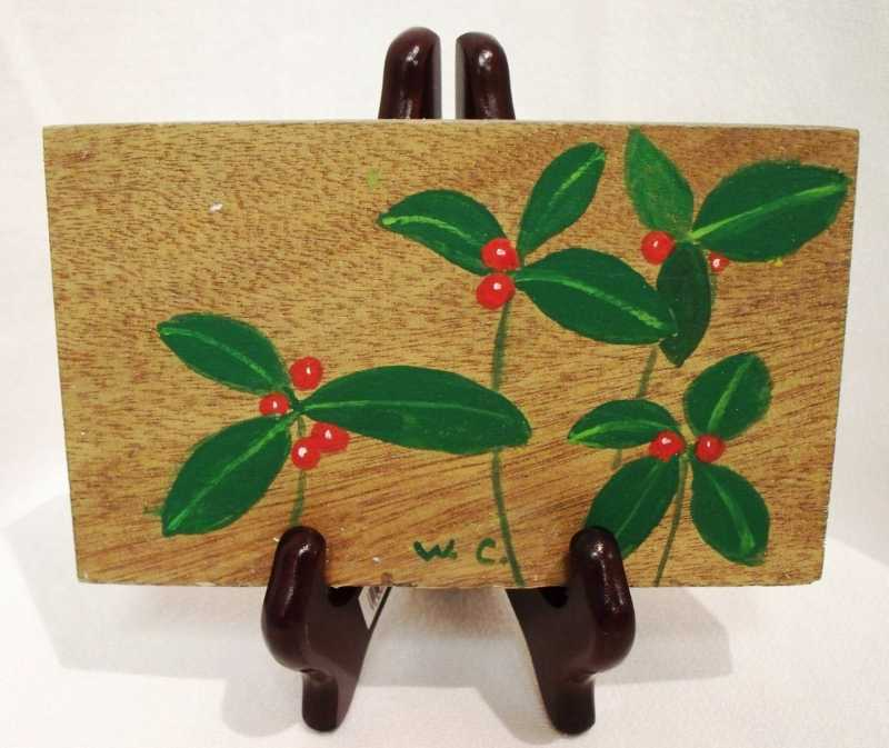 WC340 Holly  Berries by  William Cordes - Masterpiece Online