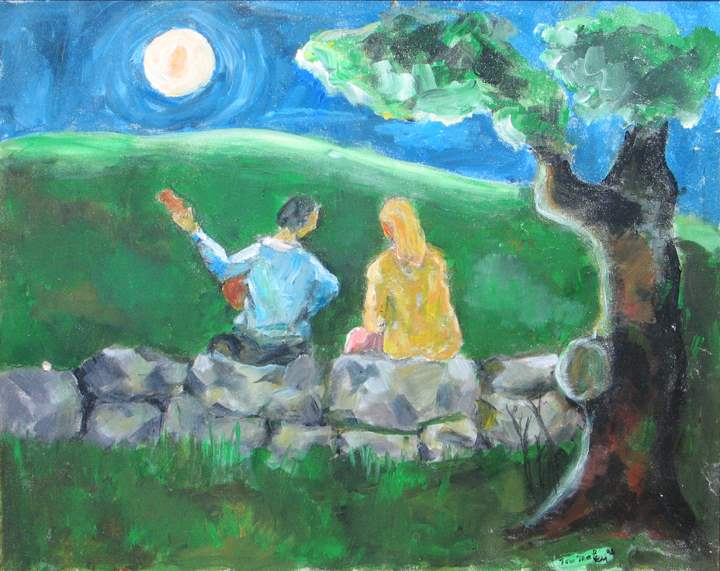 Serenade by Moonlight by  Tom Maley - Masterpiece Online