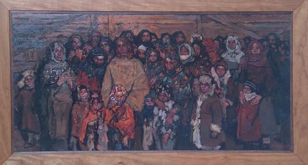 Deportation 1 by  Daud Akhriev - Masterpiece Online