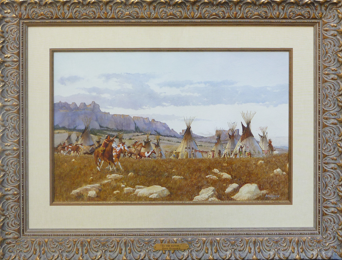 To the Victor by Mr. & Mrs. David Halbach - Masterpiece Online