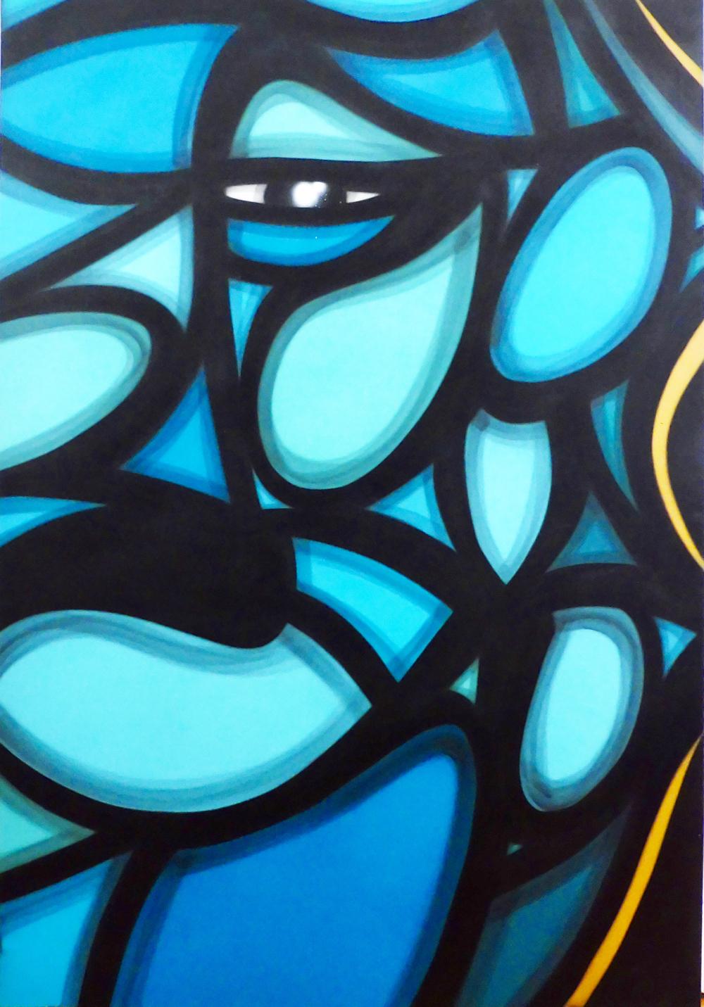 Blue Lion by   WONE - Masterpiece Online