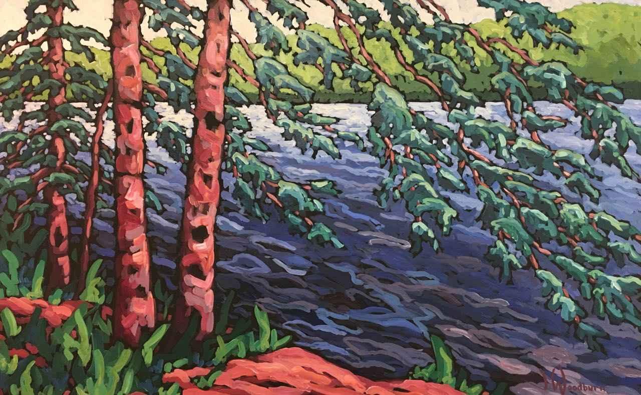 Hanging At the Lake by Ms Jennifer Woodburn - Masterpiece Online