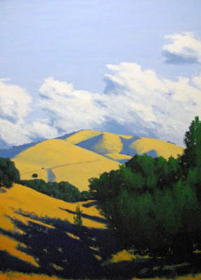 Clouds Over Carmel Va... by  Donald  Craghead - Masterpiece Online