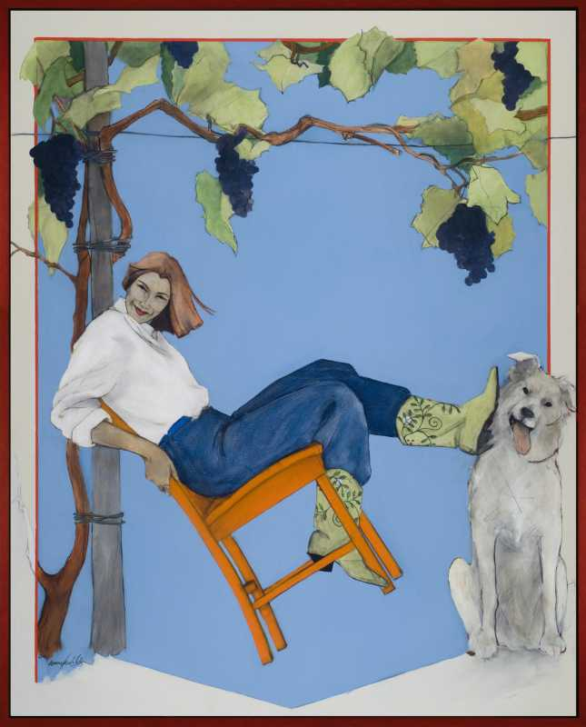 Learning to Kick Back by  Donna Howell-Sickles - Masterpiece Online