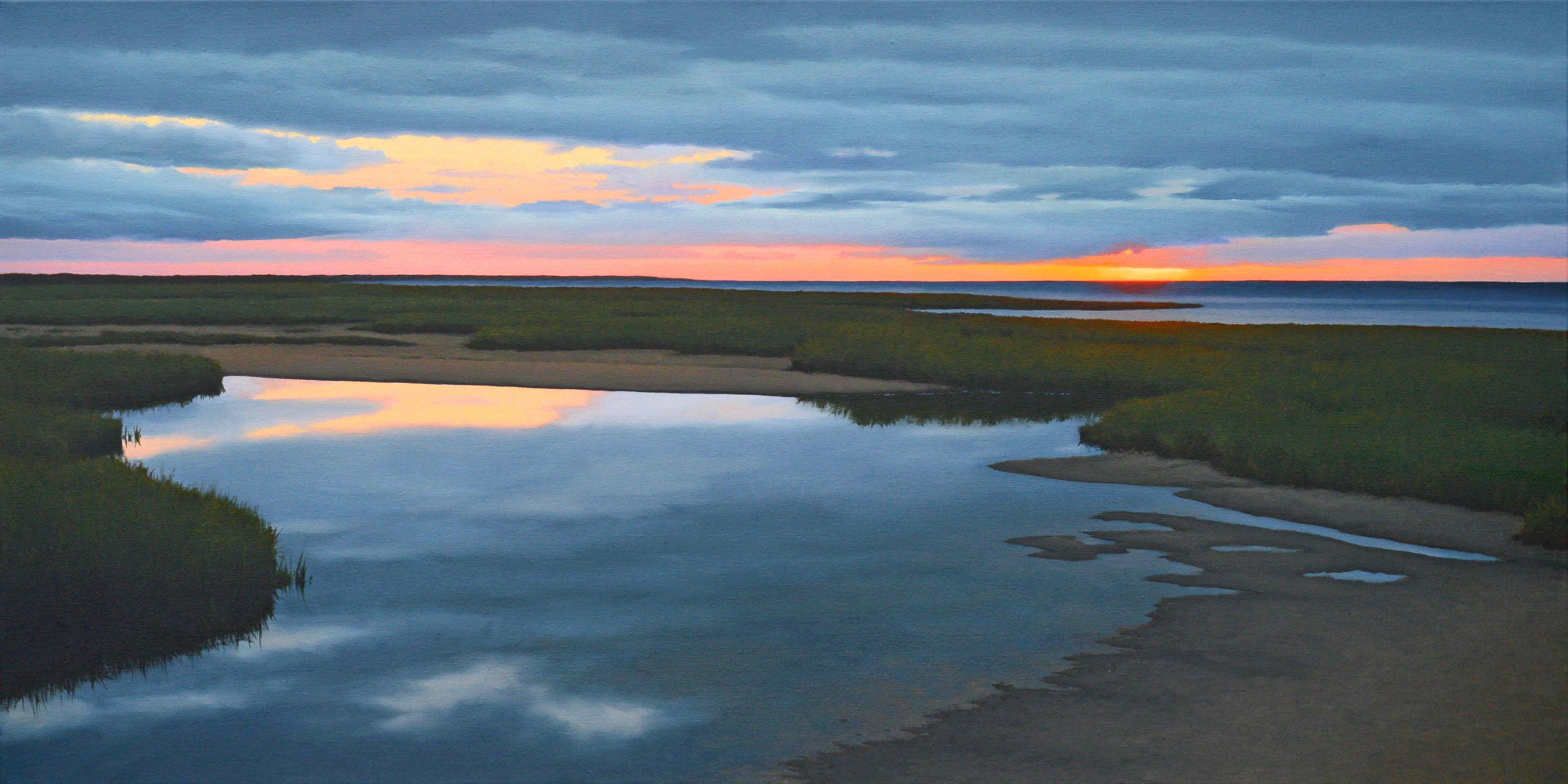 Tidal Pool at Dusk by  Jim Holland - Masterpiece Online
