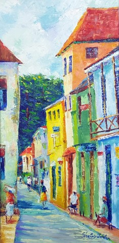 Limming Sand Street S... by Mr. Glenroy Jordan - Masterpiece Online