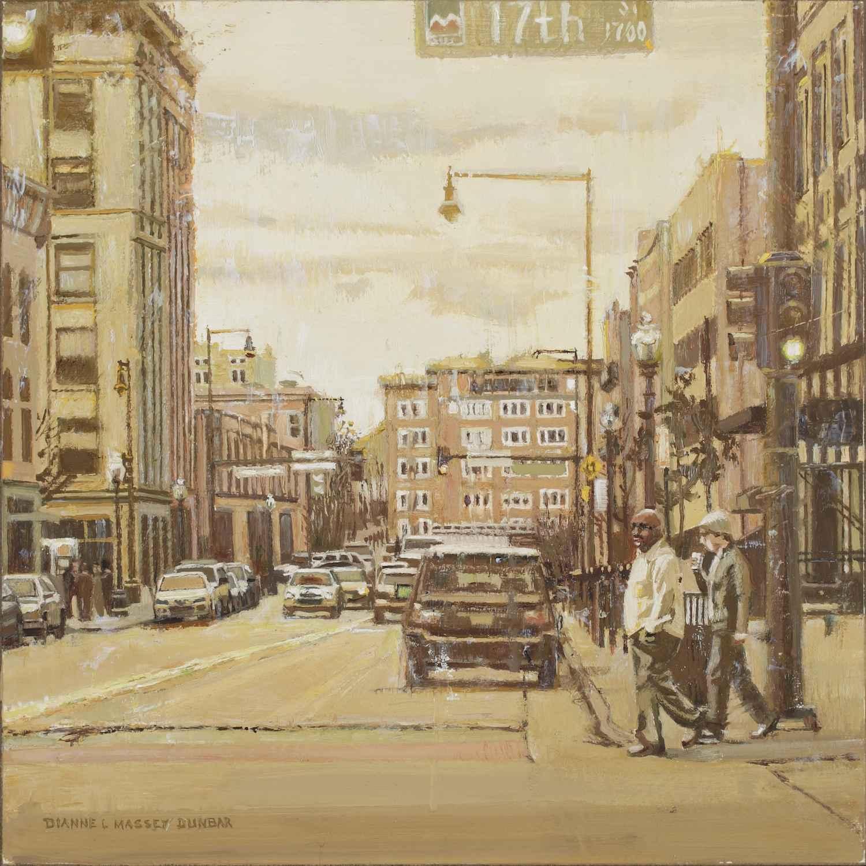 Cityscape in Yellow by  Dianne Massey Dunbar - Masterpiece Online