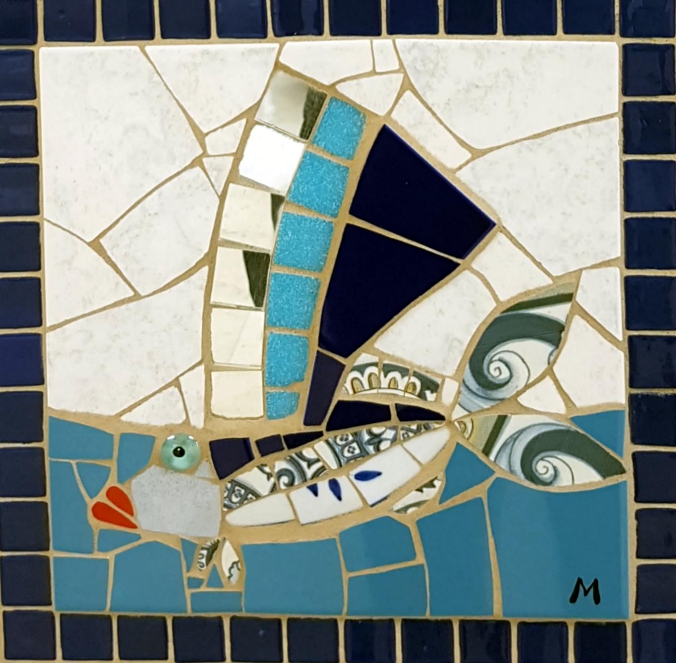 Mrs Flying Fish by  Melanie Blomgren - Masterpiece Online