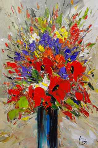 Radiant Bouquet by  Louis  Magre - Masterpiece Online