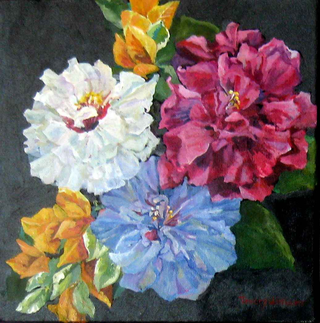 Double Hibiscus by Ms. Tracey Williams - Masterpiece Online