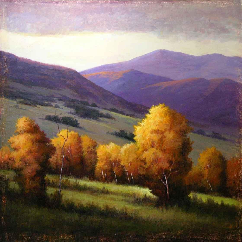 High Mountain Color  by  Simon Winegar