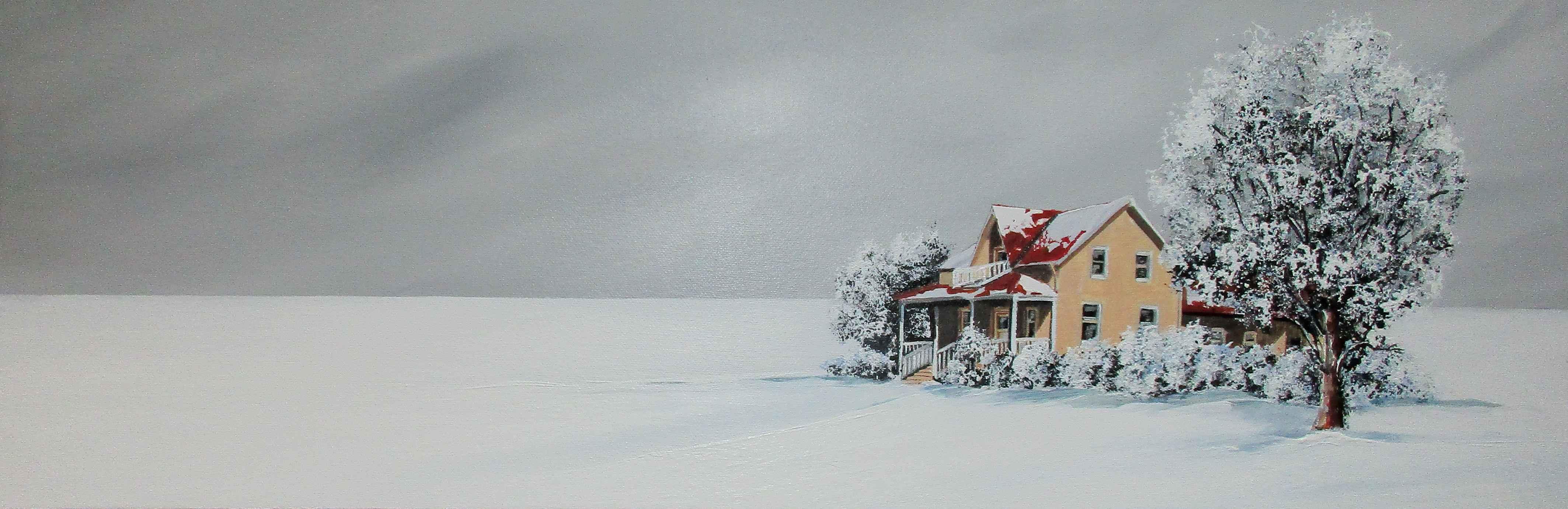 Buried In Snow by  Janet Liesemer - Masterpiece Online
