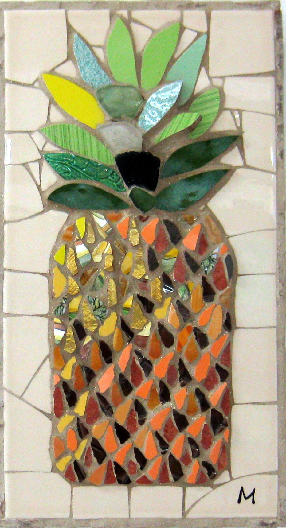 Golden Pineapple by  Melanie Blomgren - Masterpiece Online