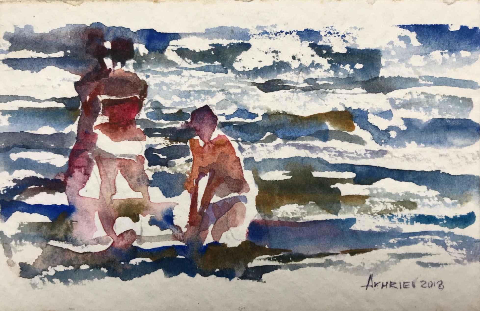 Beach Series II by  Daud Akhriev - Masterpiece Online