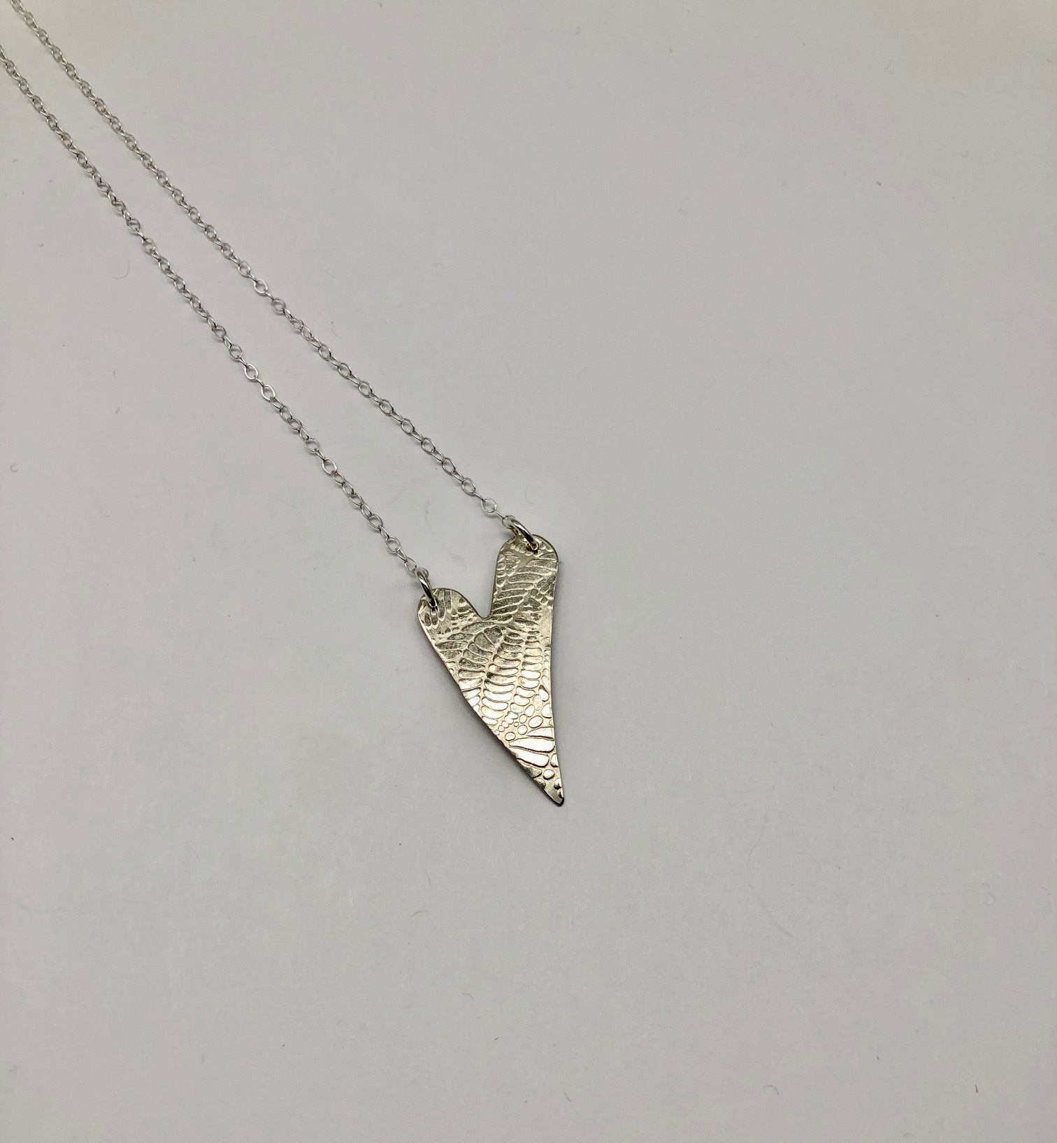 Sterling Heart Necklace (63) 16
