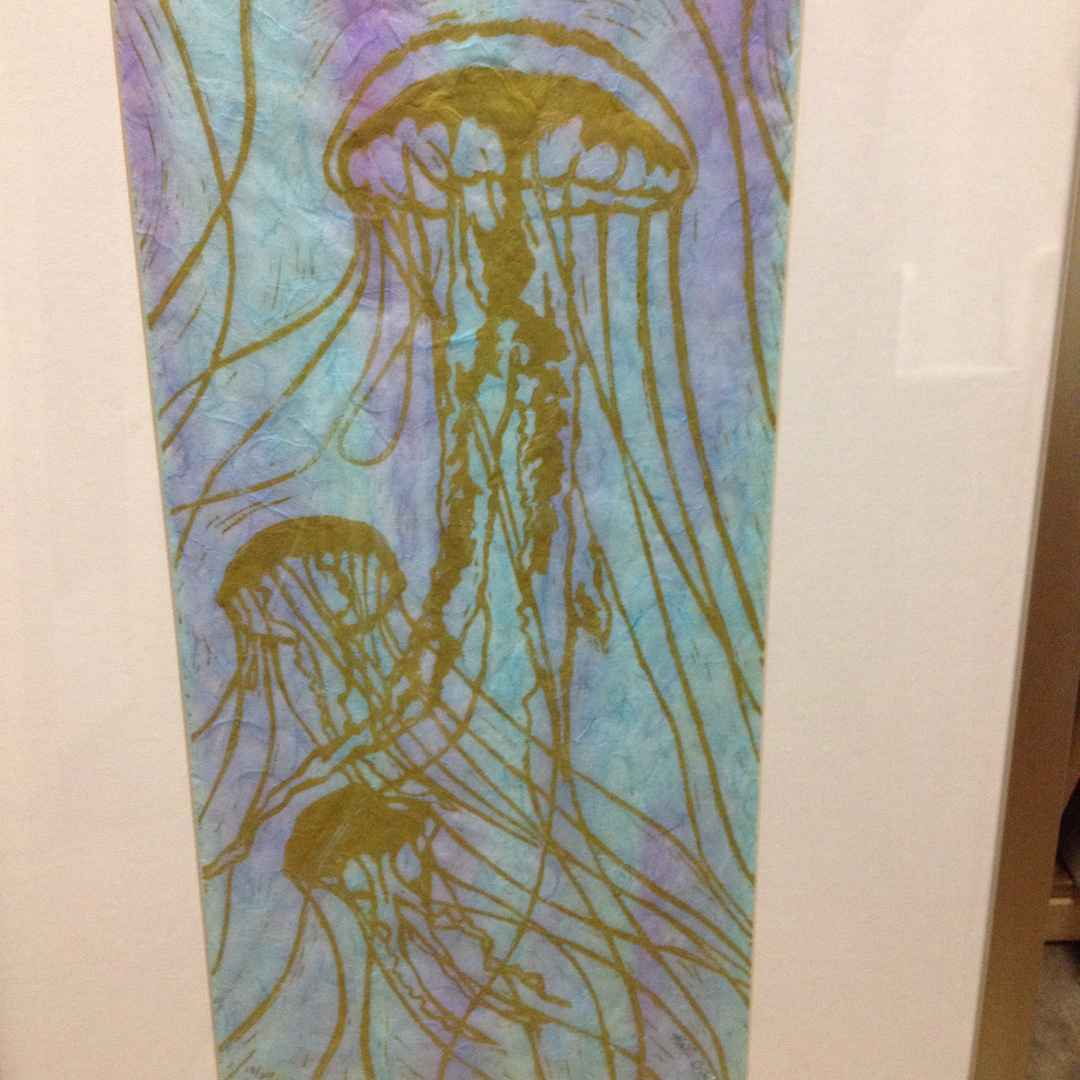 Jellyfish by  Katherine Grey - Masterpiece Online