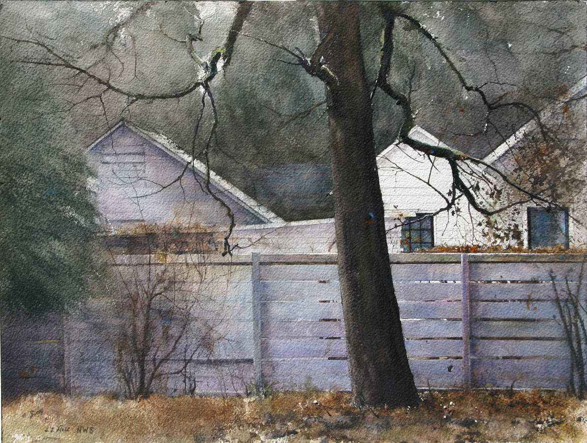Almost Winter by  Lane Hall - Masterpiece Online