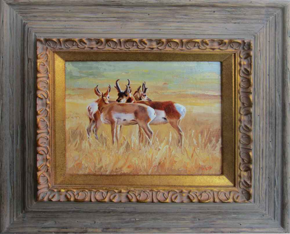 Pronghorn Trio by  Sonia Reid - Masterpiece Online