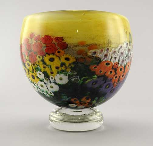 Landscape Bowl w/Crys... by  Shawn Messenger - Masterpiece Online