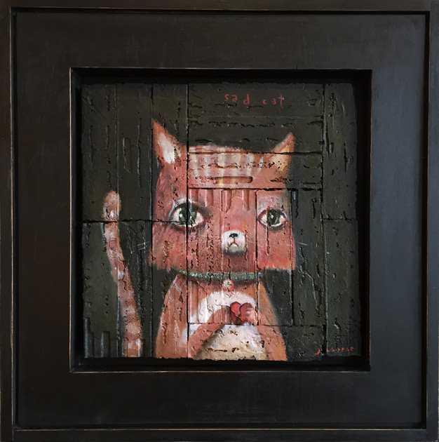 MISFITS--Sad Cat  by  John Whipple