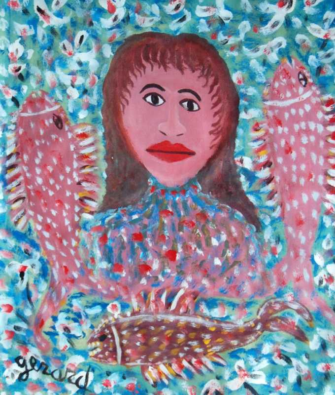 Fish Lady by  Gerard FORTUNE - Masterpiece Online